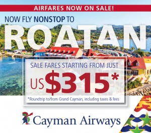 Cayman Airways - Now Nonstop to Roatan!
