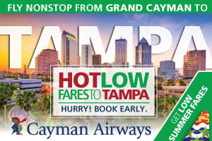Cayman Airways - How Low Fares Summer 2017
