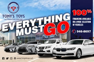 Tony's Toys - Everything Must Go!