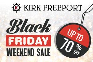 Black Friday Kirk Freeport Cayman
