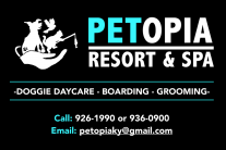 Petopia Resort & Spa Logo