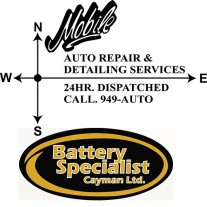 24 Hour Mobile Repair & Battery Specialist Logo