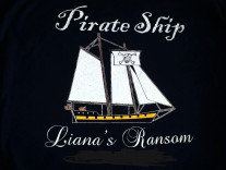 Pirate Ship Liana's Ransom Logo