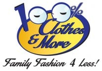 100% Clothing and More Logo
