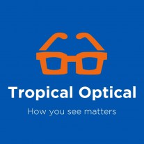 Tropical Optical At Shedden Road Logo