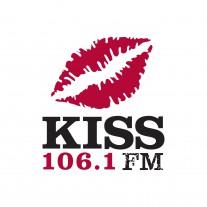 KISS 106.1 FM Logo