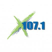 X 107.1 FM Logo