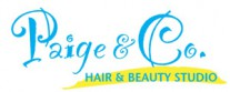Paige & Co Hair & Beauty Studio Logo