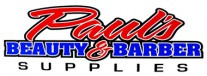 Paul's Barber and Beauty Supplies Logo
