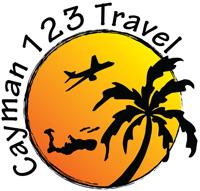 Cayman123 Travel Logo