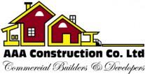 AAA Construction Co. Ltd. Logo