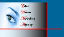 Eden Haven Models Agency Logo
