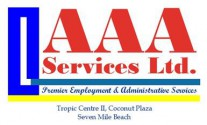 AAA Services Ltd Employment and Administrative Services Logo