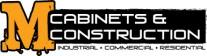 M's Cabinets & Construction Logo