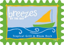 Breezes By The Bay Tropical Grill And Rhum Deck Logo