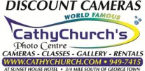 Cathy Church's Photo Centre Logo