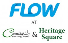 Flow Cayman - Heritage Square (Four Way Stop West Bay ) Logo
