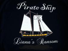 Pirate Ship Liana's Ransom Logo