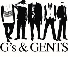G's & Gents Logo
