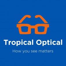 Tropical Optical At Shedden Road Logo