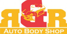 R & R Auto Body Shop Logo