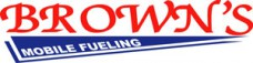 Brown's Mobile Fueling Logo