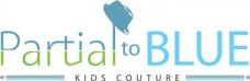Partial to Blue Logo