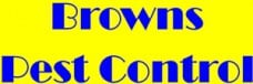 Browns Pest Control Logo