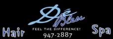 De Bleu Hair Salon Logo