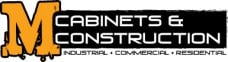 M's Cabinets & Construction Logo