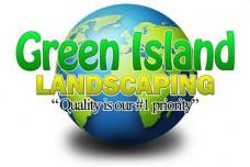 Green Island Landscaping Logo