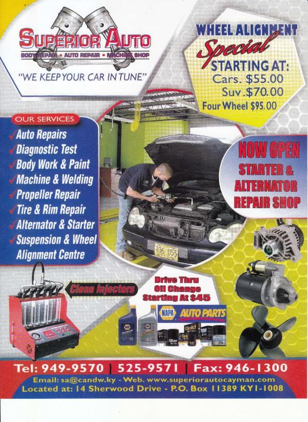 Superior Auto Parts >> Flyer Superior Auto