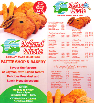 Island Taste Patties & Catering Island Taste Patties & Catering Cayman Islands