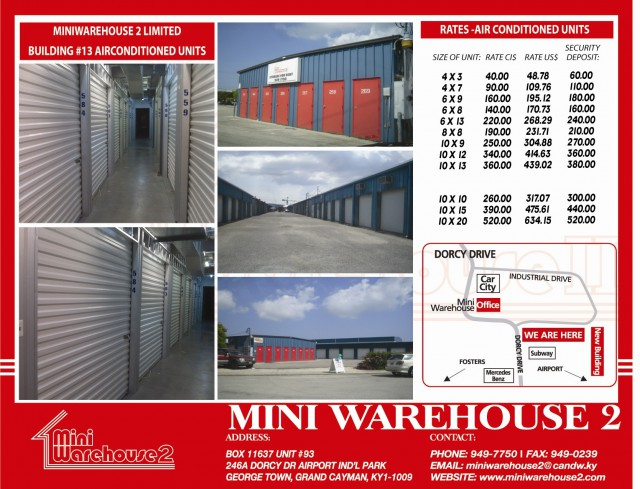 Mini Warehouse 2 Ltd Ecayonline