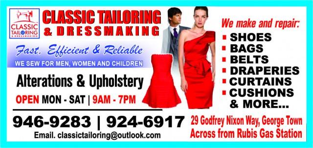 Classic Tailoring Classic Tailoring Cayman Islands