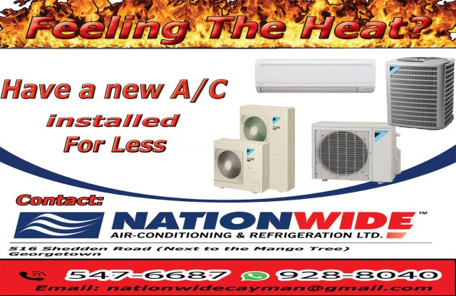 Nationwide Air Conditioning & Refrigeration Nationwide Air Conditioning & Refrigeration Cayman Islands