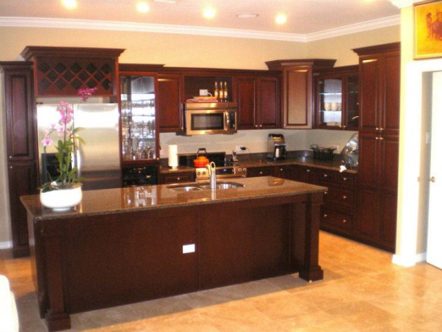 Real Wood Cabinets Real Wood Cabinets Cayman Islands