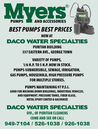 Daco Water Specialties-Dealers (Myers) Daco Water Specialties-Dealers (Myers) Cayman Islands