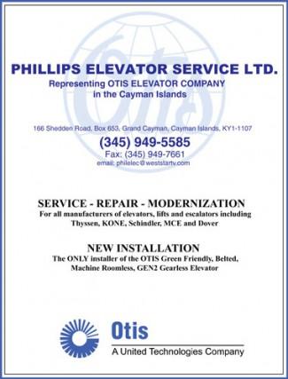 Phillips Elevator Service Ltd. Phillips Elevator Service Ltd. Cayman Islands