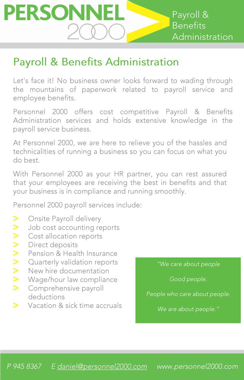 Payroll 2000