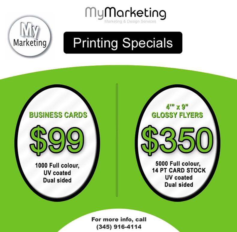 Printing Specials - My Marketing