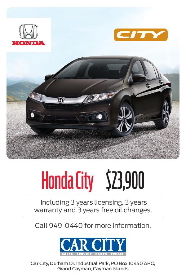 Flyer - Car City Sales