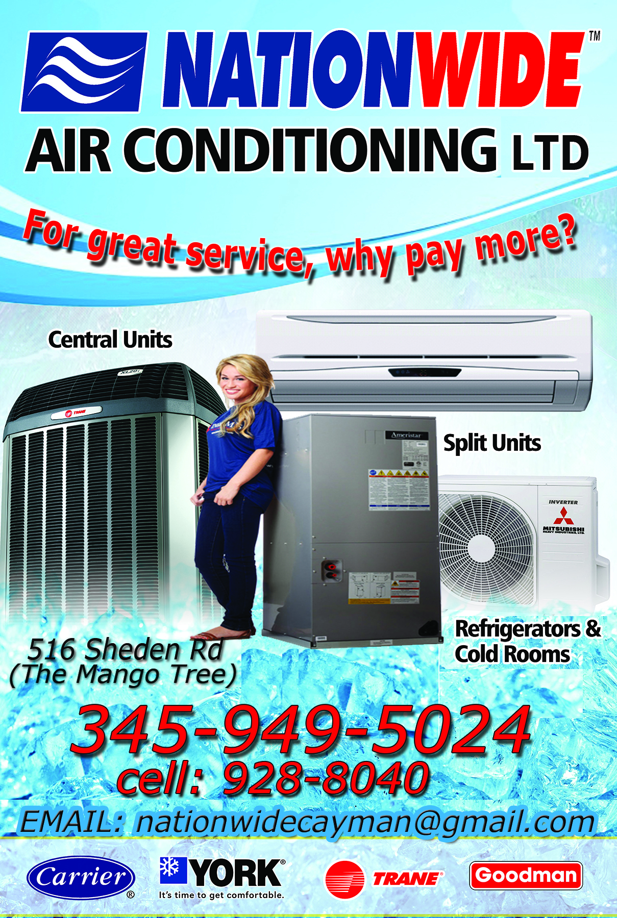 Nationwide Air Conditioning Refrigeration In George Town Ecayonline Electrical Engineering And Cayman Islands